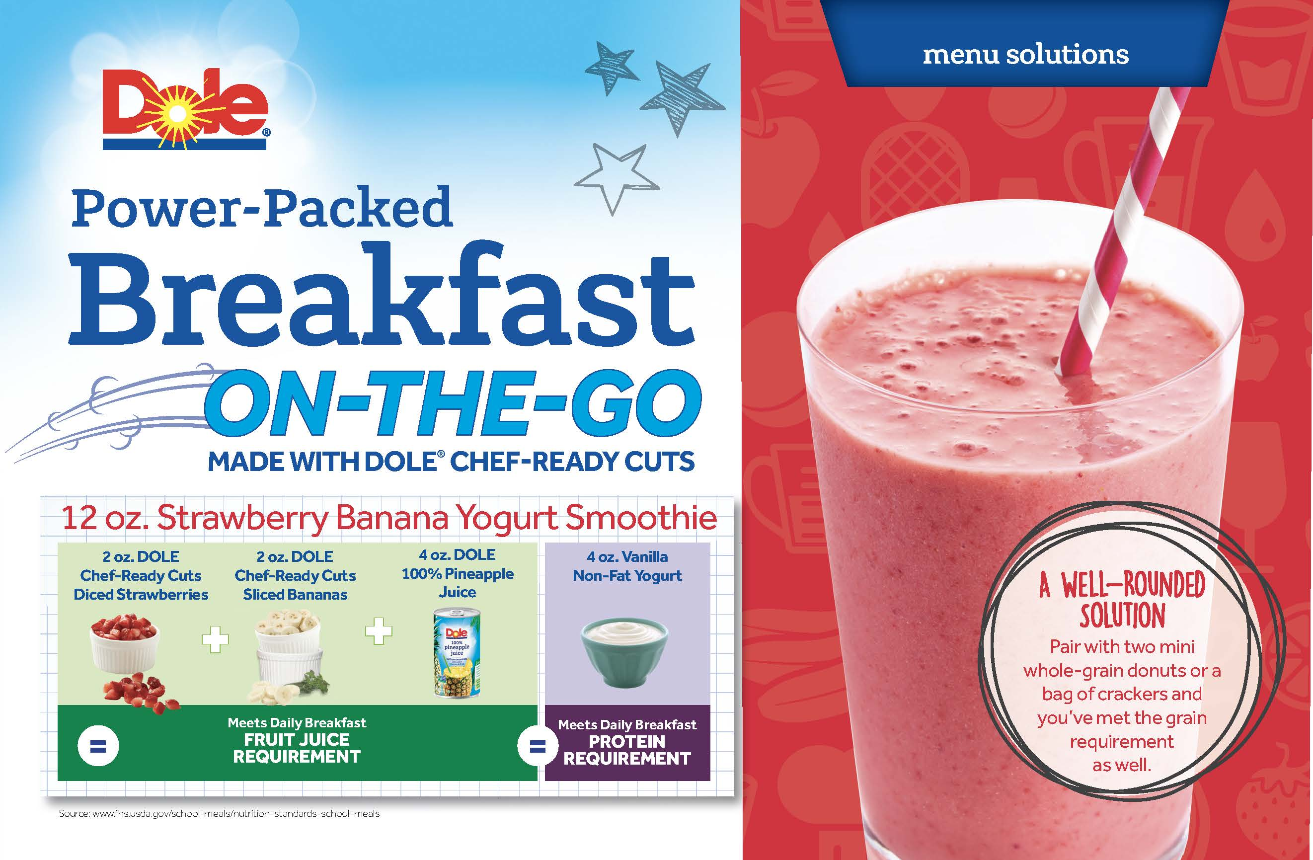 Dole schoolsmoothie sheet page 1 wdppj9