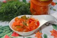 Салат из кабачков без стерилизации