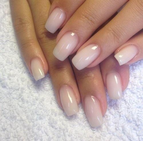 Gel nails american manicure