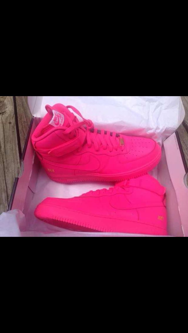 Hot pink mens sneakers
