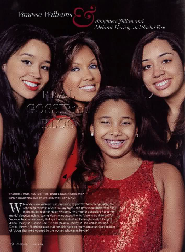 Pictures of vanessa williams daughters