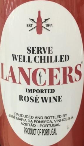 lancers vinho rose vin