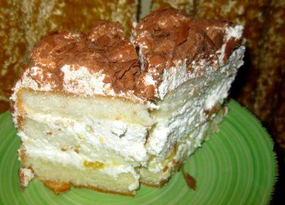 Торт женское счастье по дюкану