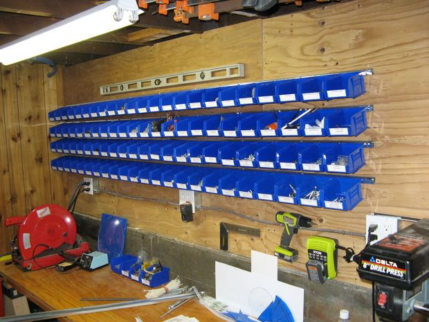 Nails and screws storage