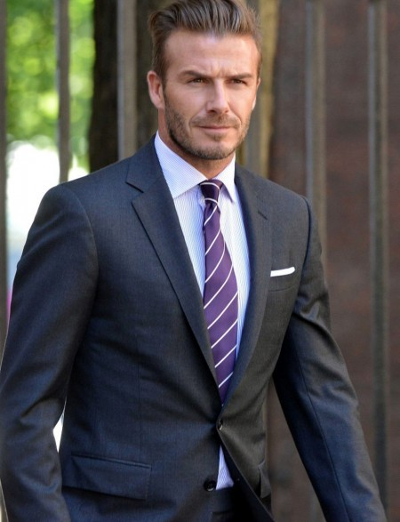David beckham suit size