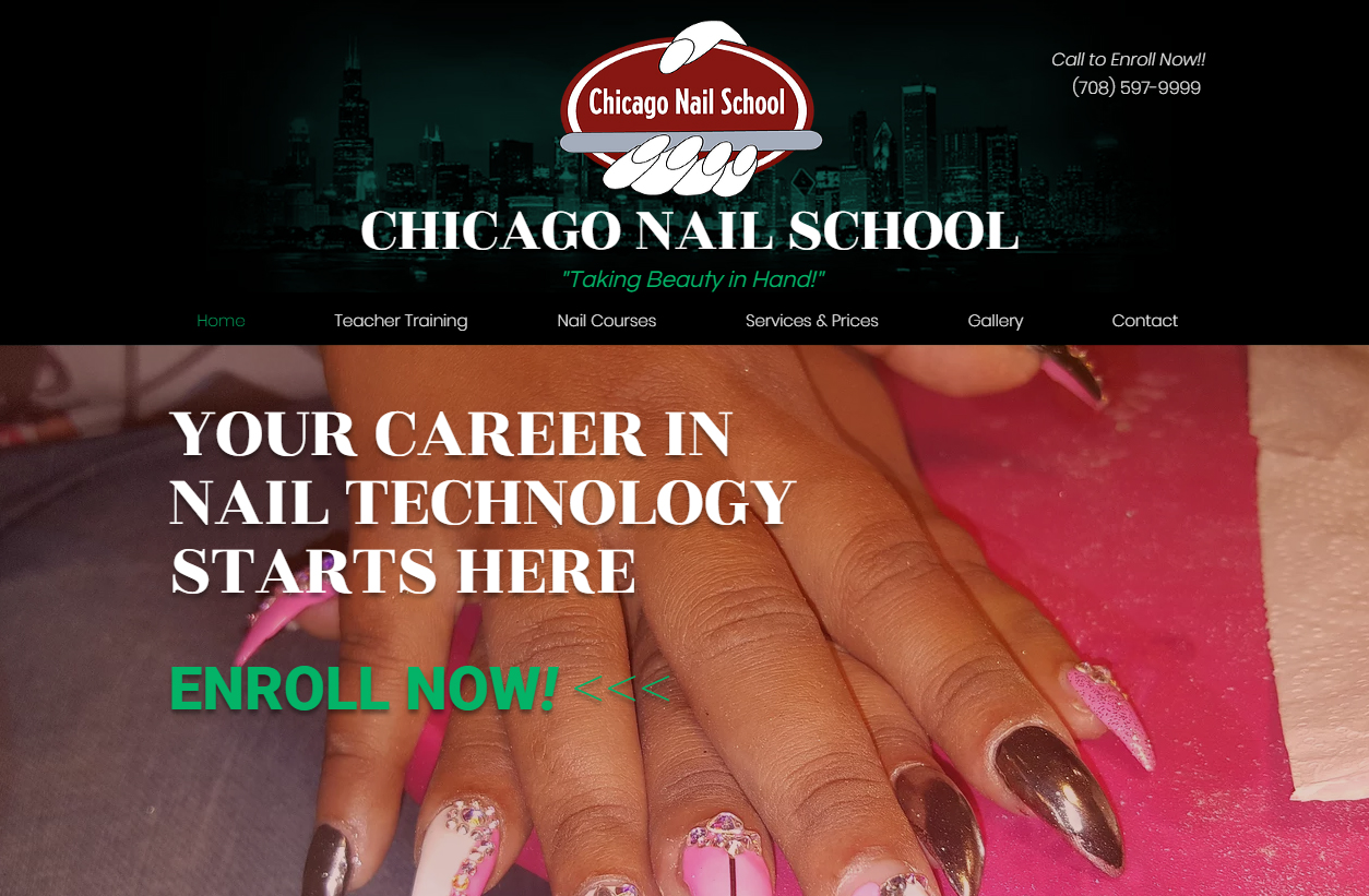 Nails schools in chicago