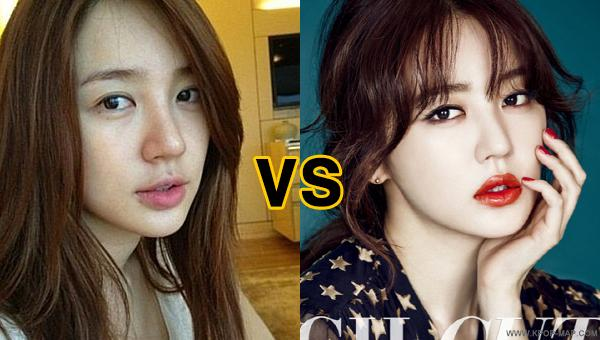 Korean celebrities without make up
