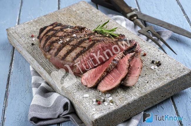 Рецепт приготовления стейка в домашних условиях