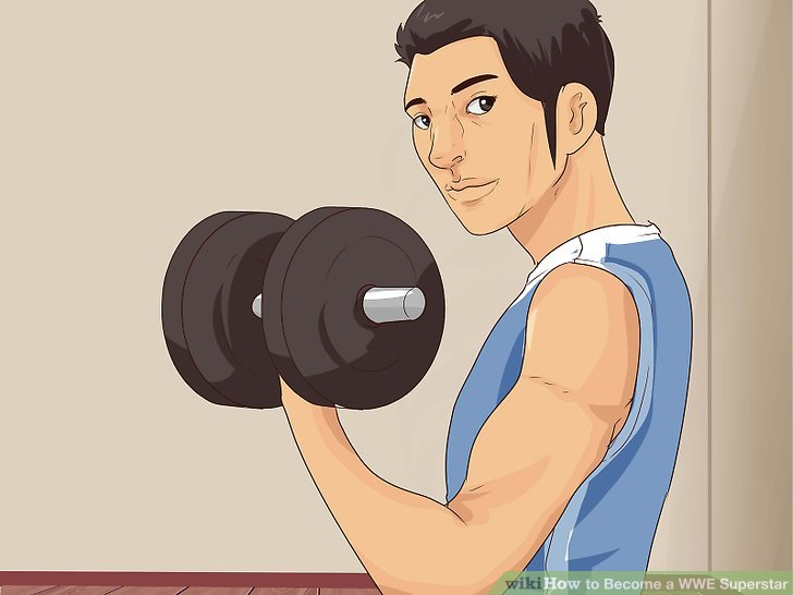 Image titled Become a WWE Wrestler Step 2