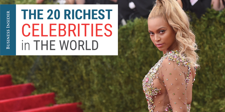 Top 100 richest celebrities in the world 2011