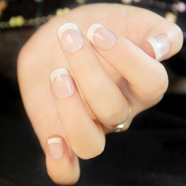 False french nails