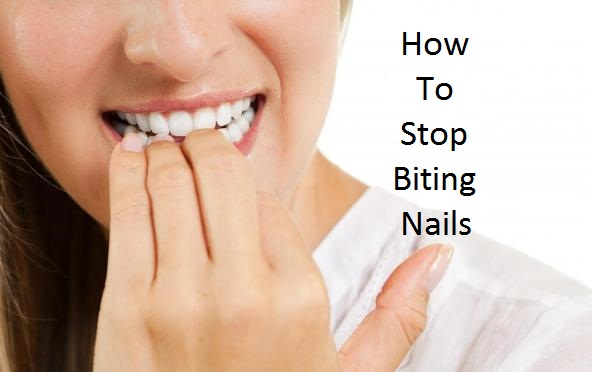 How stop biting nails