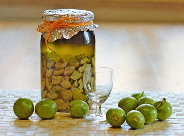 Настойка из зеленых грецких орехов рецепт