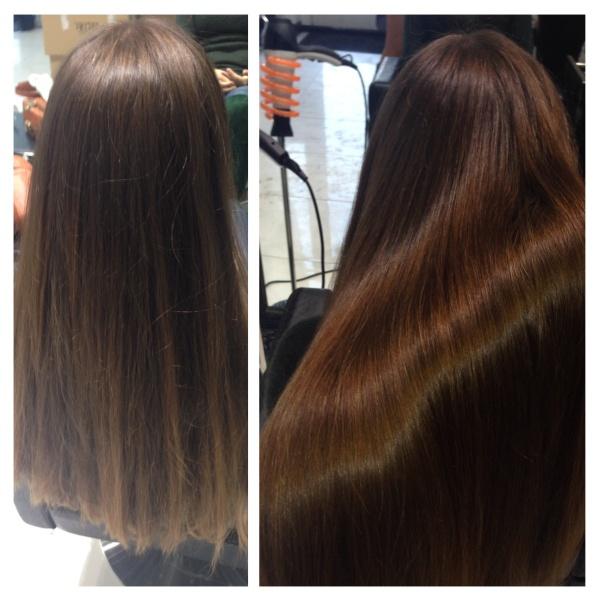 Кератиновое выпрямление волос отзывы