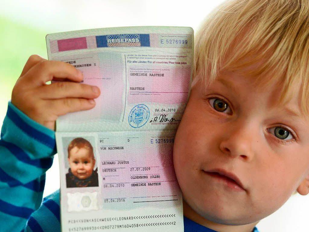 Список документов загранпаспорт ребенку