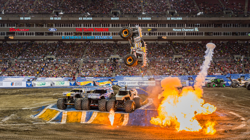 Raymond james monster jam tickets