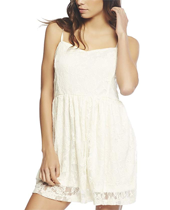 Wet seal lace skater dress