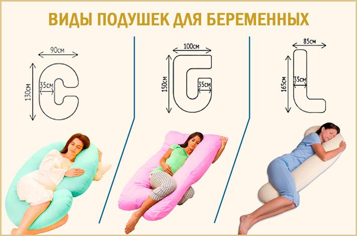 Подушки для сна при беременности