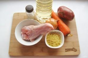 Суп из индейки с лапшой рецепт