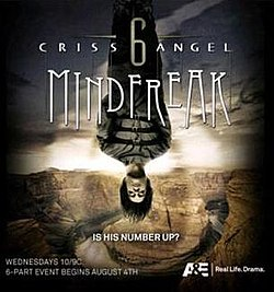 What channel is criss angel mindfreak on