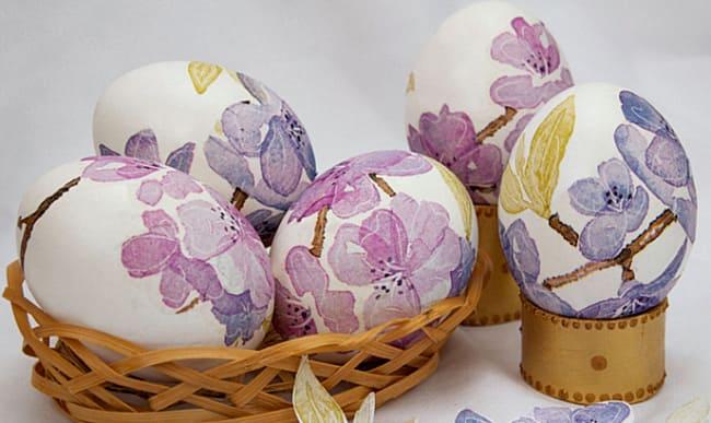 Яйца как покрасить на пасху