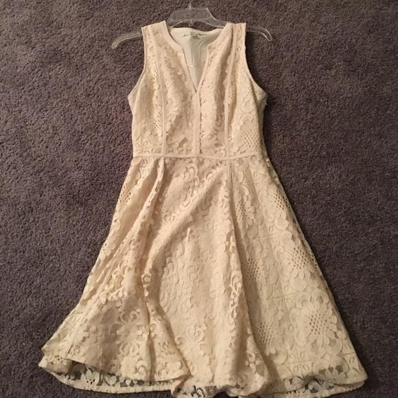 Lauren conrad lace tulle dress