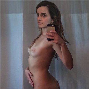 Emma Watson Takes Naked Selfies Again