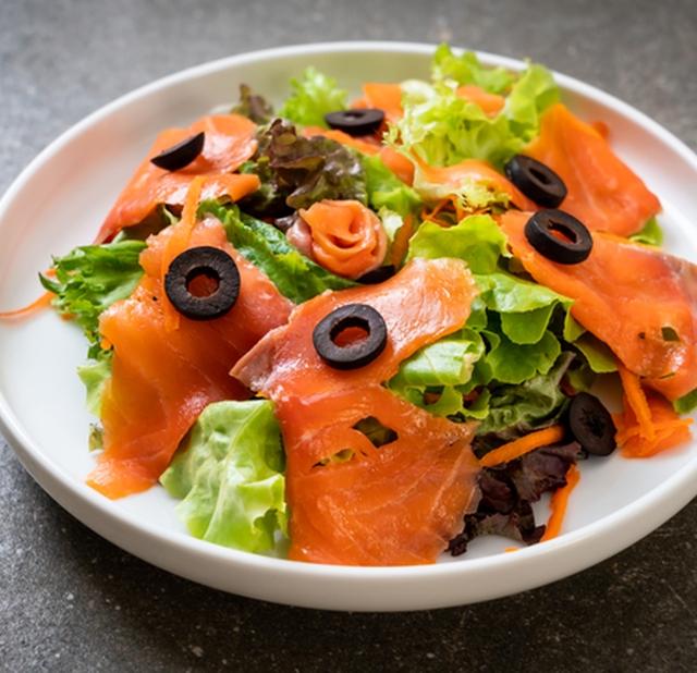 Рецепты с лососем копченым