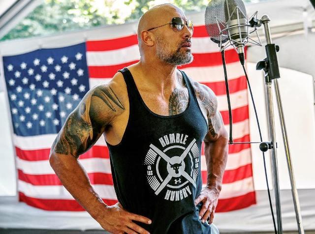 Dwayne Right Bicep Tattoo