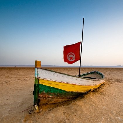 Тунис на карте мира страна