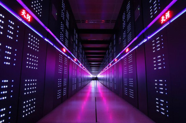 Tianhe-2 superkomputer