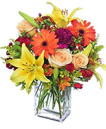 Floral Spectacular Flower Vase