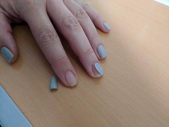 Debenhams nails inc manicure