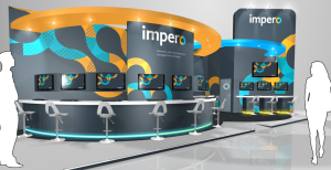 Artistic Impression Of Imperos BETT 2014 Stand
