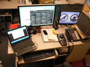 Tidy Desk Of IT Professional