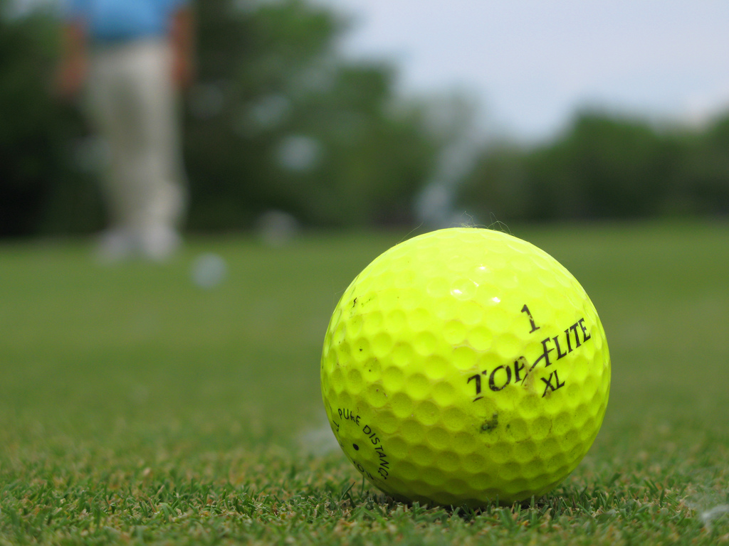 Picture Of Golfball