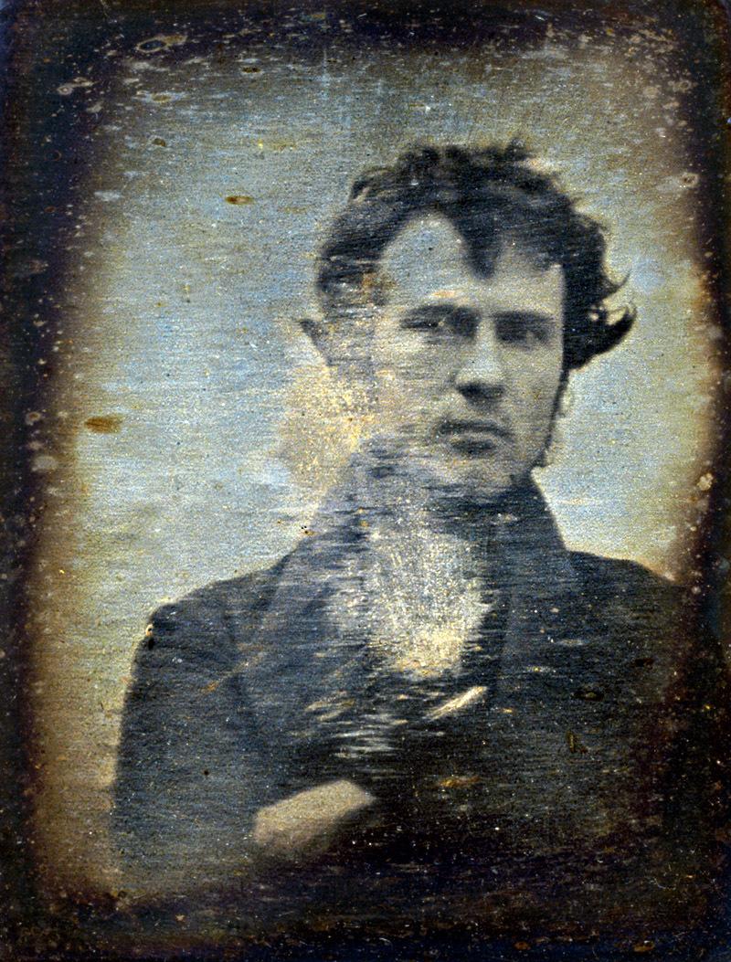 Bilinen ilk selfie, Robert Cornelius, 1839