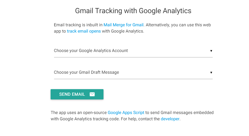 find gmail message status
