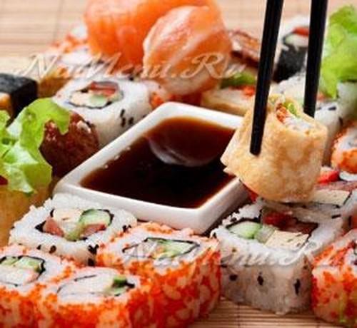 Начинки для суши рецепт в домашних условиях