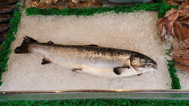 Как приготовить стейк из лосося в духовке в фольге