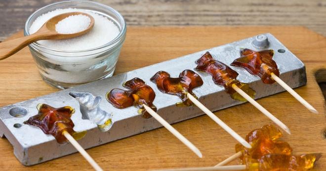 Леденцы из сахара в домашних условиях - старые и новые рецепты изготовления конфет