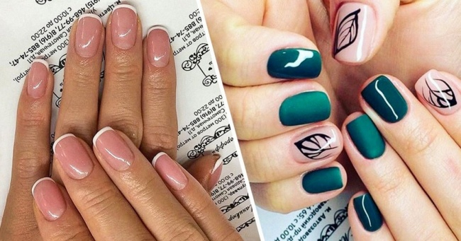 Manicure for short nails ideas