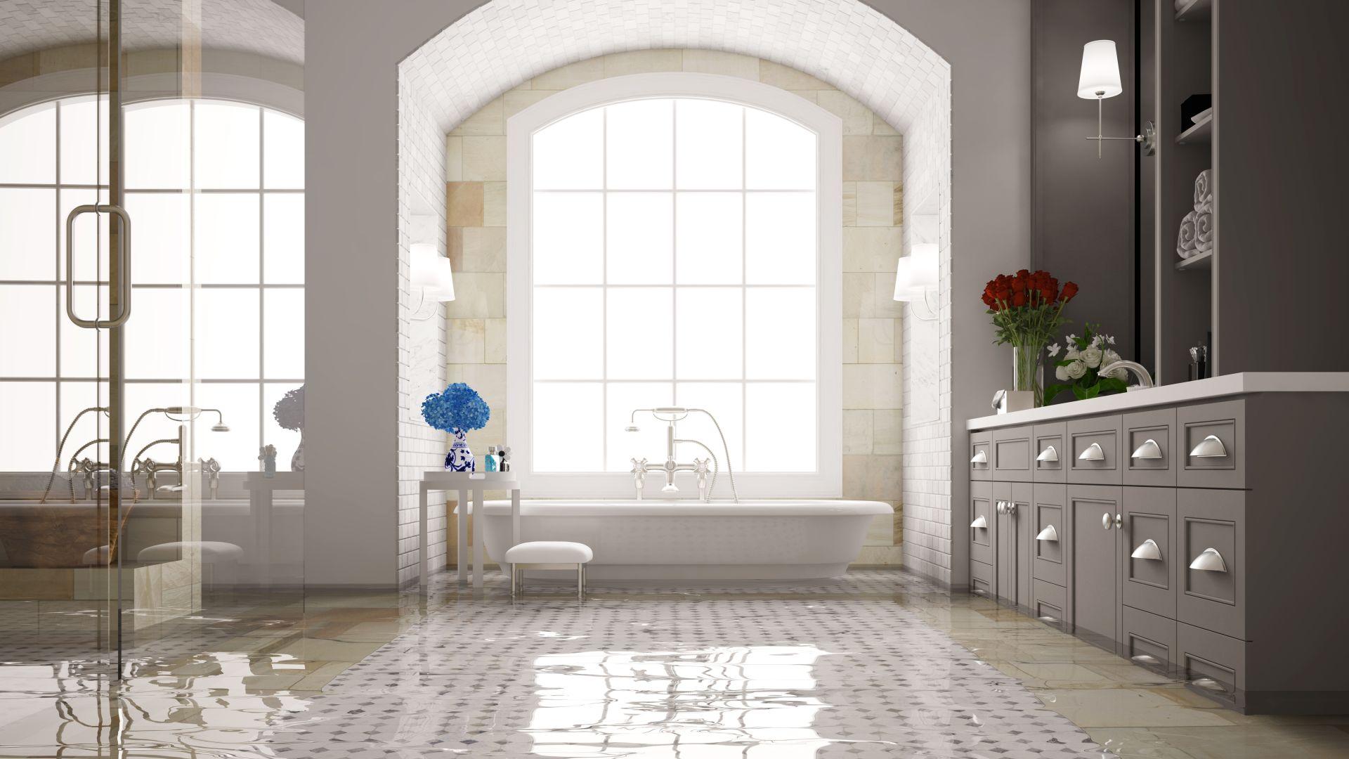 My Tiled Area Has Flooded - Beaumont Tiles