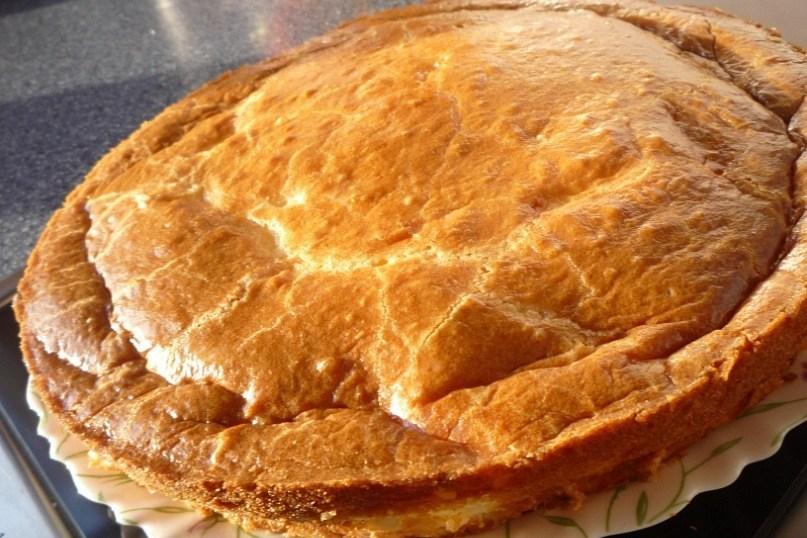 Жидкое тесто на пирог с рыбой