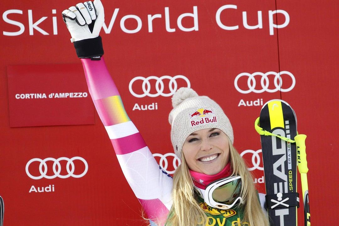 A sad day for skier lindsey vonn
