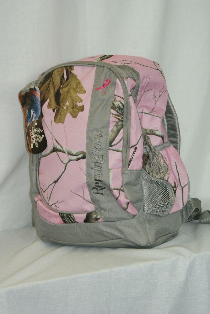 Remington realtree pink camo backpack