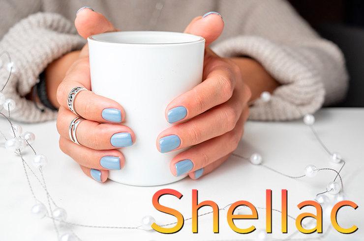 Шеллак для ногтей в домашних условиях