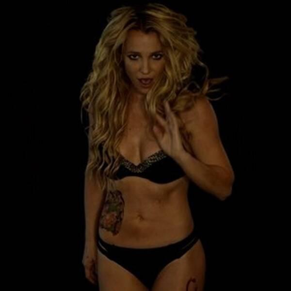 Britney spears bra panties