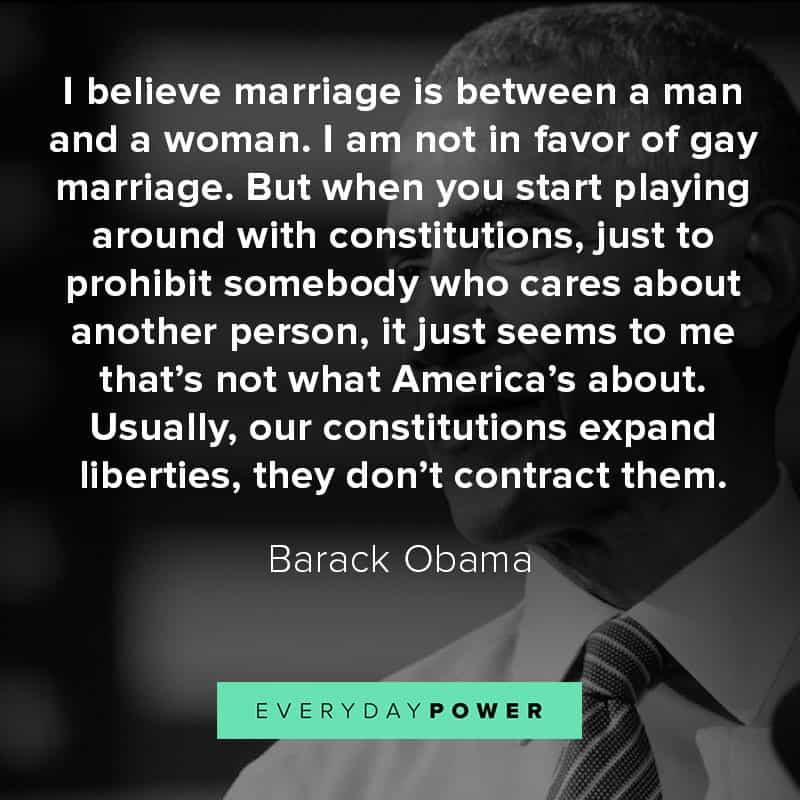 Barack Obama quotes on marriage