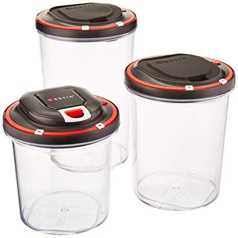 Vaccum seal containers